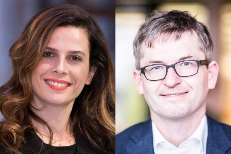 Francesca Bria, Helmut Schönenberger, DLD Sync