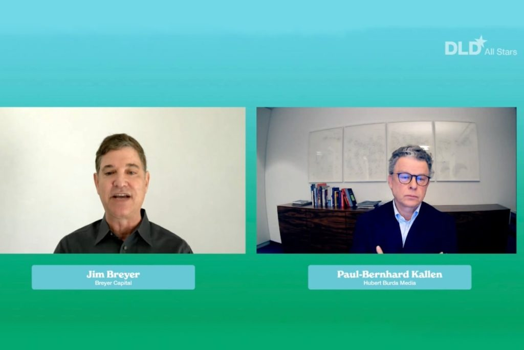 Jim Breyer, Paul-Bernhard Kallen, DLD All Stars, video