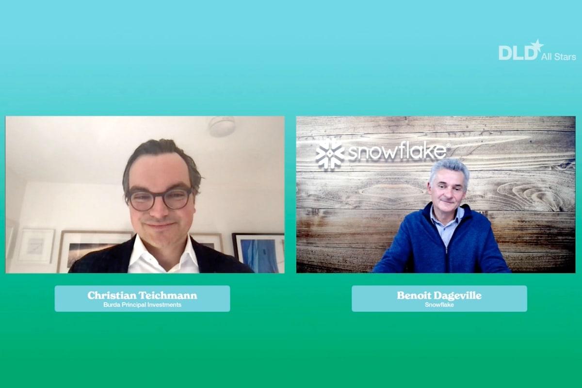 Snowflake, Dageville, data analytics, video, explainer, Teichmann, Burda, investing