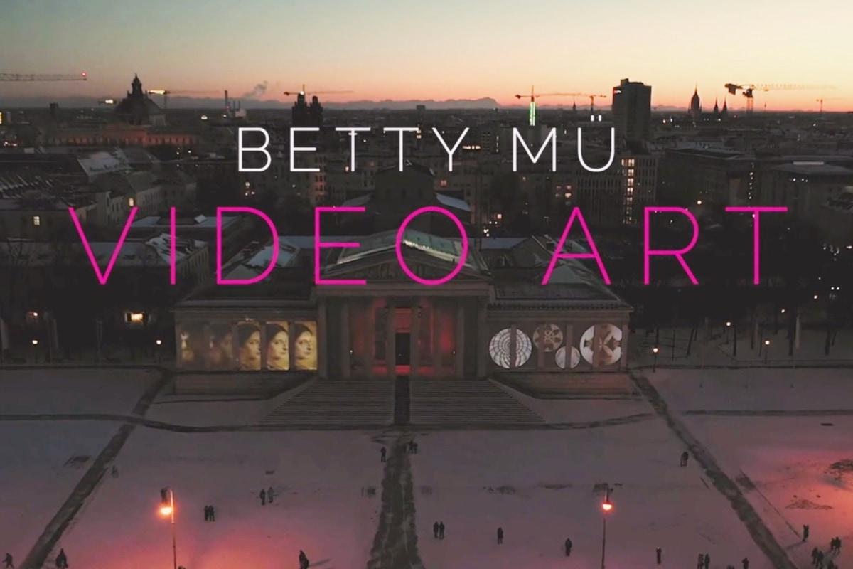 video artist, betty mü, betty mue, art, video, installation, DLD, talk