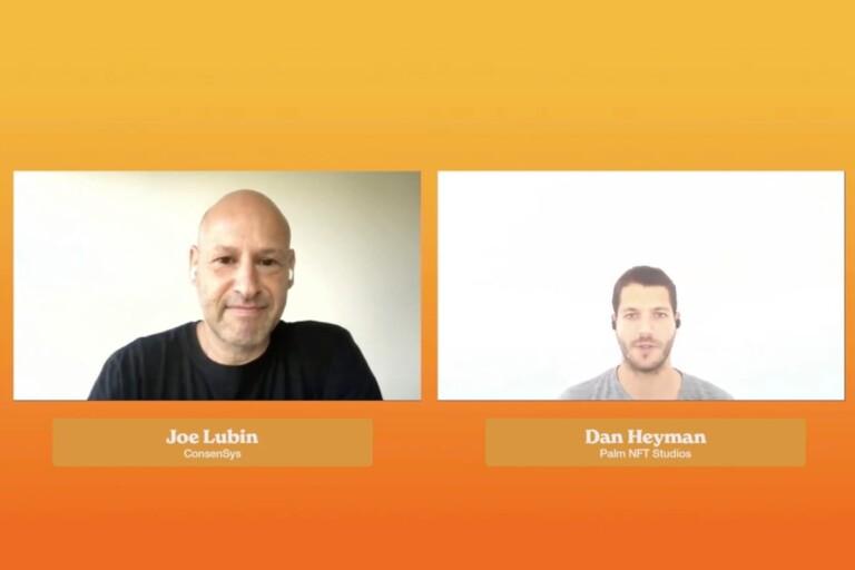 Joe Lubin, Dan Heyman, NFT, blockchain, cryptocurrencies, Ethereum, Palm.io