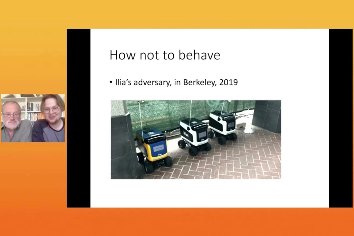 robots, robotics, security, AI, humans, mix, Ross Anderson, Ilia Shumailov, DLD, talk, video