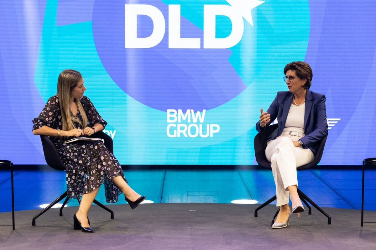 Ilka Horstmeier, BMW, Anne Kawalerski, Bloomberg Media, DLD Circular, sustainability, brands, leadership, management, talk, video