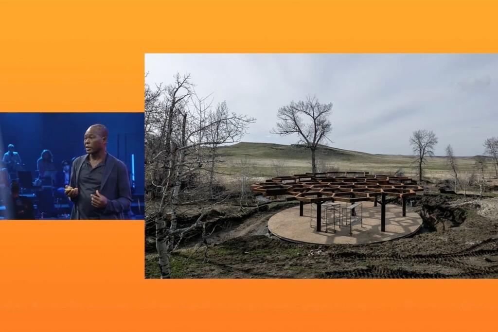 Francis Kere, Francis Kéré, architecture, innovation, sustainability, DLD Circular, video, talk, presentation