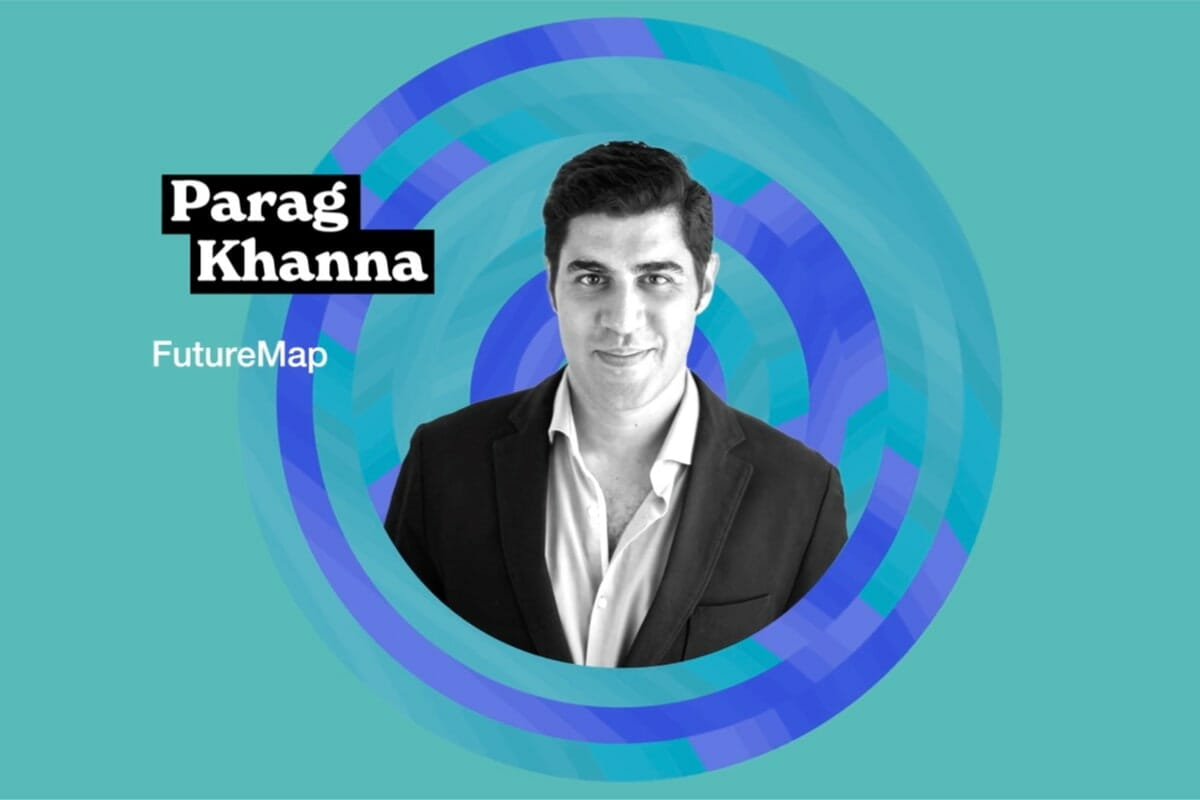 Parag Khanna, Move, mobility, civilization, climate change, DLD Circular, presentation